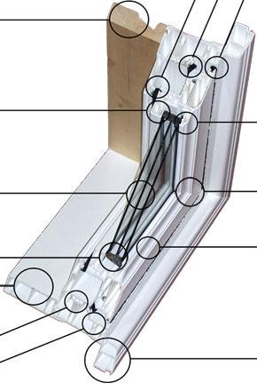 Casement Window Crossection