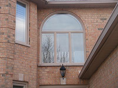 Brick to brick casement window instalation in Hamilton