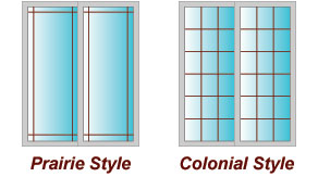 Sliding Door Decorative V-groove Glass