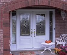 Steel Entrance Iron Double Door