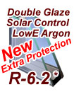 Laminated LowE2 Argon