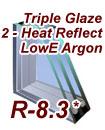 Triple Glaze 2-LowE2 Argon