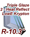 Triple Glaze 2-LowE2 Krypton
