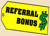 Referral Cash Bonus