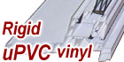 Pure Rigid uPVC Vinyl Extrusion