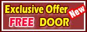 Exclusive Online Offer, Get FREE Window