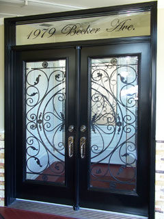 Toronto Cast (Wrought) Iron Doors