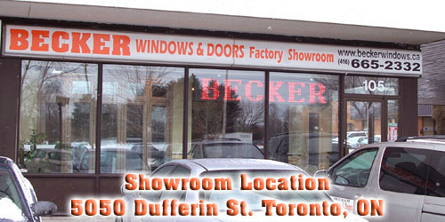 Toronto Windows and Doors, Showroom
